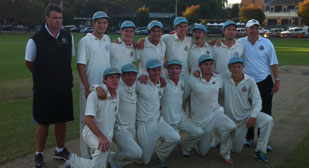 1st XI Cricket | APS premiership | Geelong Grammar School