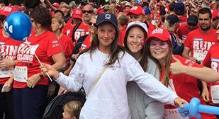 Geelong Grammar School students at Run Geelong