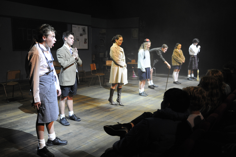 teechers drama coursework Devising drama: creating a drama from scratch based on exploration of a given stimulus this will mirror the process for the unit of the same name in the gcse course.