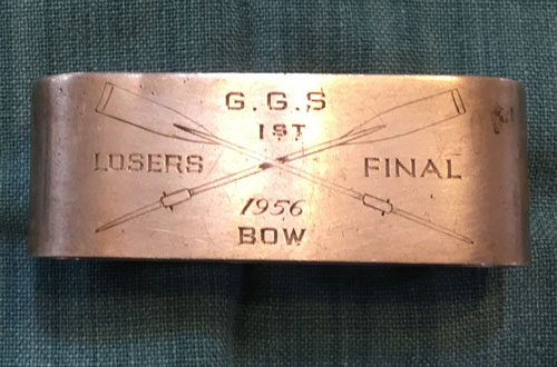 GP Douglass memorial napkin ring