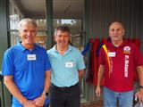 090 - Anton Harding (P'71), Lou Hope (M'71) and Chris Leighton (Cu'71)