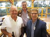 137 - John Hawkes (FB'71), David Ross-Edwards (FB'71) and Graeme Lyon (P'71)