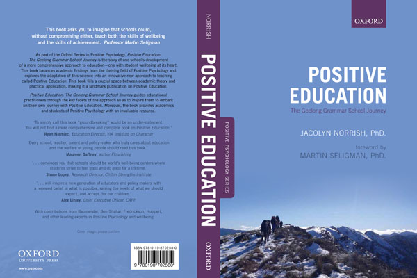 Positive Education, Oxford University Press, Geelong Grammar School