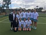 2nd Girls Tennis 2019