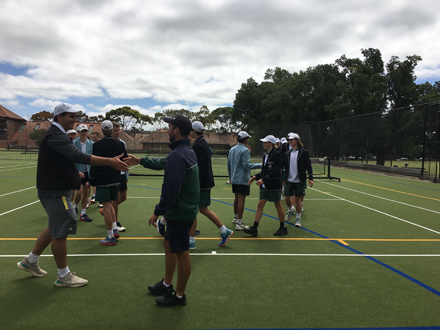 Tennis Boys 1sts 2020 at TGC