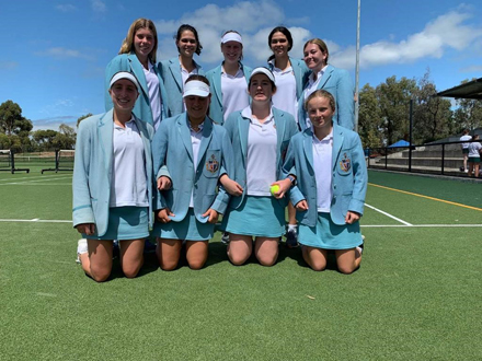 Tennis Girls 1sts 2020
